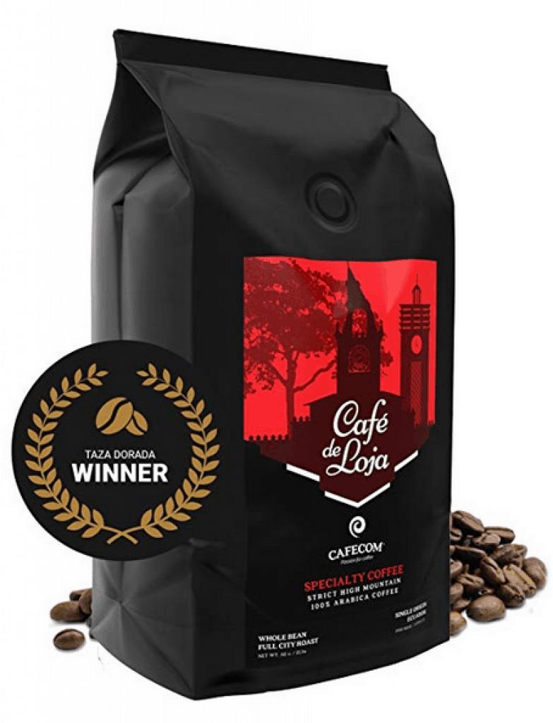Café de Loja AWARD-WINNING Specialty Coffee Beans Medium/Dark Roast