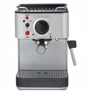 Cuisinart EM-100 1.66 Quart Stainless Steel Espresso Maker, Silver