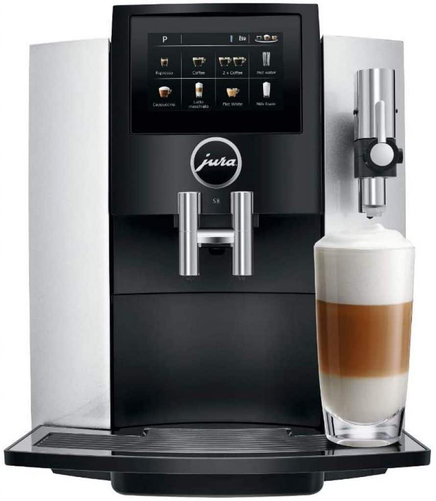 Jura S8 Super-Automatic Espresso Machine